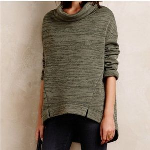 Anthropologie | Saturday Sunday cowl neck pullover
